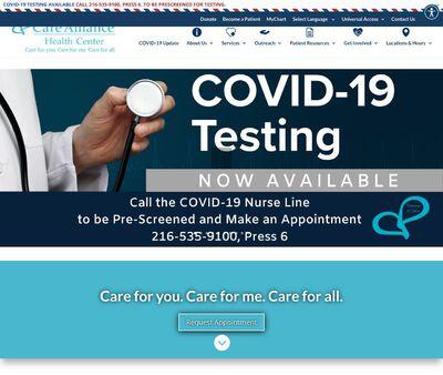 STD Testing at Care Alliance Health Center