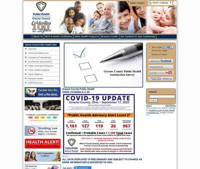 STD Testing at Greene county public health