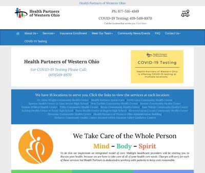 STD Testing at Health Partners of Western Ohio