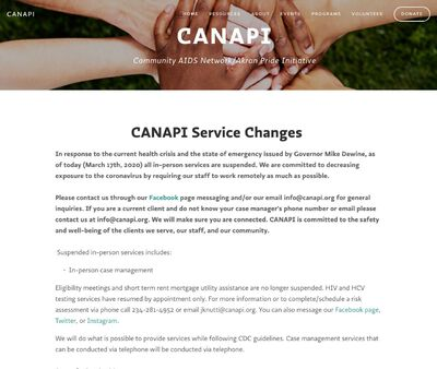 STD Testing at Canapi Aids Network