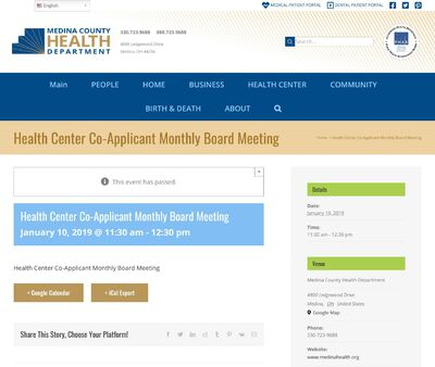 STD Testing at Medina County Health Department