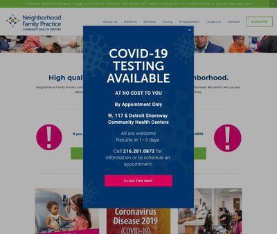 STD Testing at Neighborhood Family Practice W 117th Community Health Center