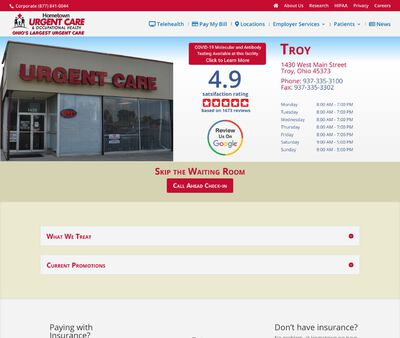 STD Testing at Hometown Urgent Care & Occupational Health