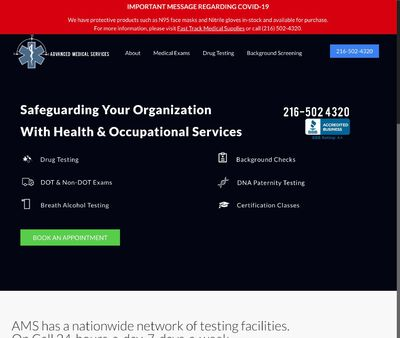 STD Testing at Advanced Medical Services