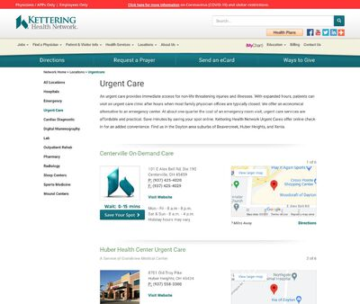STD Testing at Kettering Health Network