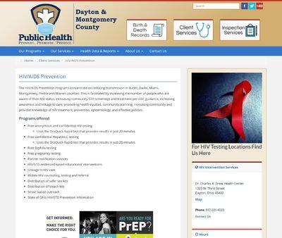 STD Testing at Public Health - Dayton & Montgomery County Clinic