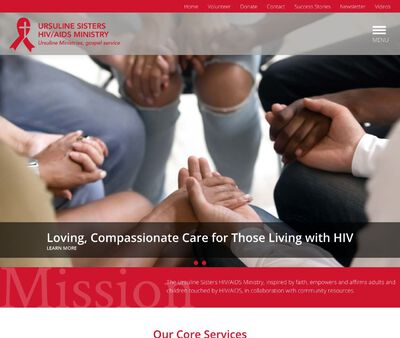 STD Testing at Ursuline Sisters of Youngstown HIV/AIDS Ministry