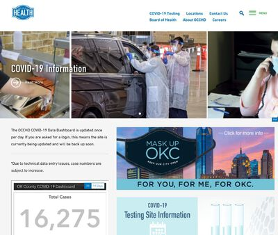 STD Testing at Oklahoma City-County Health Department (OCCHD South Oaks)