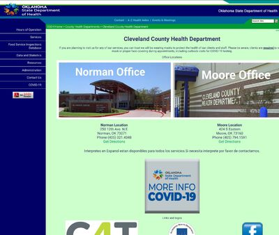 STD Testing at Oklahoma State Department of Health (Cleveland County Health Department)