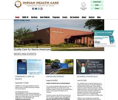 STD Testing at Indian Health Care Resource Center of Tulsa