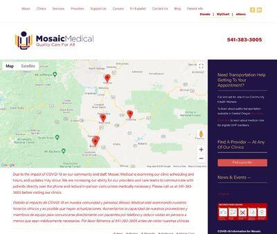STD Testing at Mosaic Medical - Ariels Community Clinic