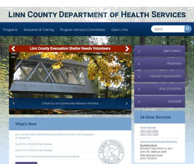 STD Testing at Linn County Department of Health Services, Lebanon Satellite Clinic