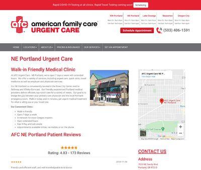 STD Testing at AFC Urgent Care NE Portland