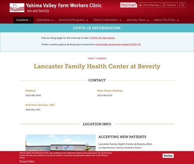 STD Testing at Lancaster Family Health Center at Beverly