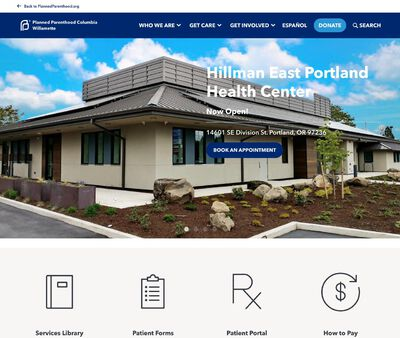 STD Testing at Planned Parenthood Columbia Willamette,Milwaukie-Oak Grove Health Center