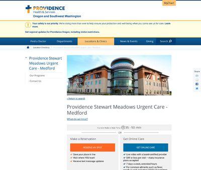 STD Testing at Providence Medford Medical Clinic