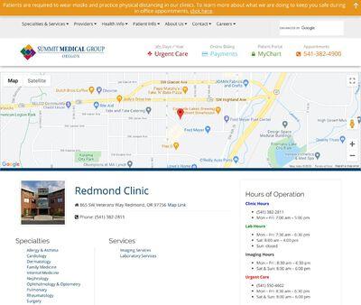 STD Testing at Summit Medical Group Oregon Urgent Care - Redmond