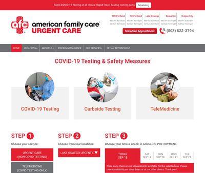 STD Testing at AFC Urgent Care Oregon City