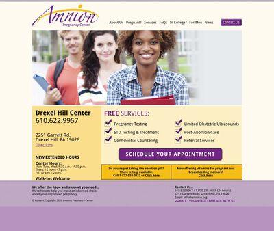 STD Testing at Amnion Pregnancy Center