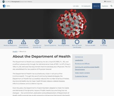 STD Testing at Dauphin County State Health Center