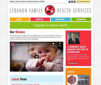 STD Testing at Lebanon Family Health Services