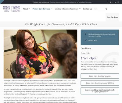 STD Testing at Wright Center for Primary Care – Infectious Disease Clinic