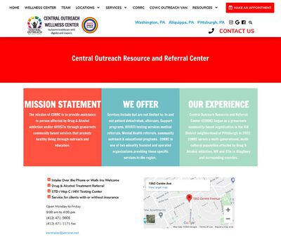 STD Testing at Central Outreach Resource and Referral Center