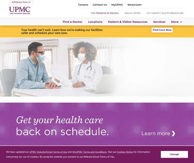 STD Testing at UPMC Center for Care of Infectious Diseases