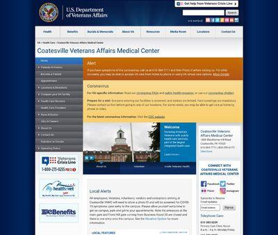STD Testing at Veterans Health Administration (Coatesville VA Medical Center)