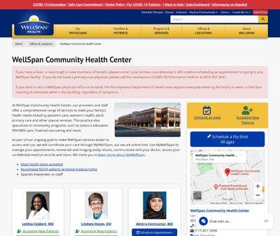 STD Testing at WellSpan Community Health Center