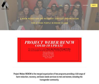 STD Testing at Project Weber/RENEW, Project Renew Women's Support Center