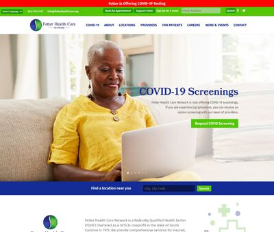 STD Testing at Fetter Health Care Network - Charleston Health Center & Corporate Office