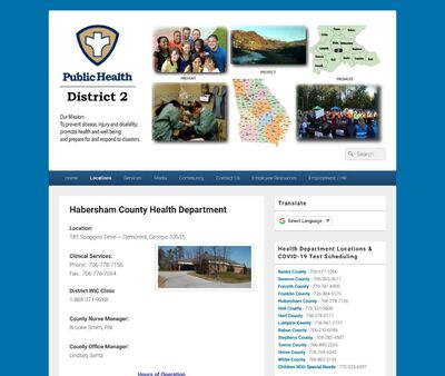 STD Testing at Georgia Department of Public Health (Habersham County Health Department)