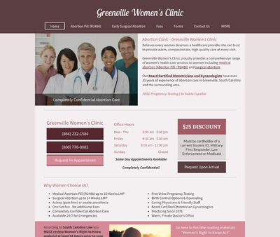 STD Testing at Greenville Women's Clinic