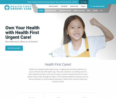 STD Testing at Health First Urgent Care