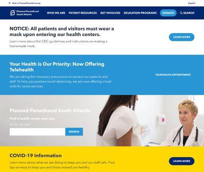 STD Testing at Planned Parenthood South Atlantic (Charleston Health Center)