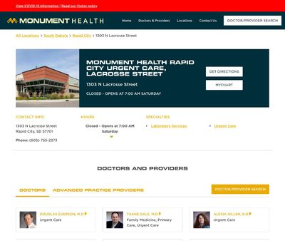STD Testing at Regional Health Urgent Care