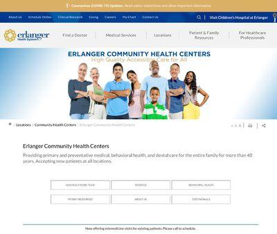 STD Testing at Erlanger Health System (Southside Community Health Center)