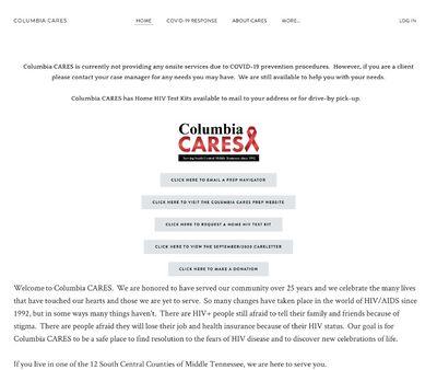 STD Testing at Columbia CARES