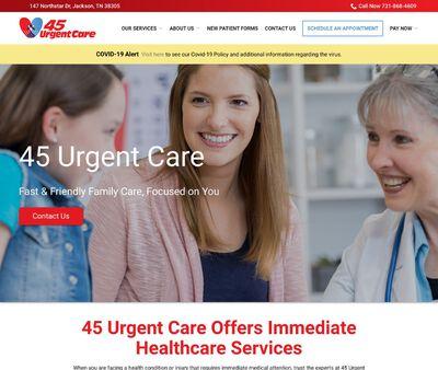 STD Testing at 45 Urgent Care PC