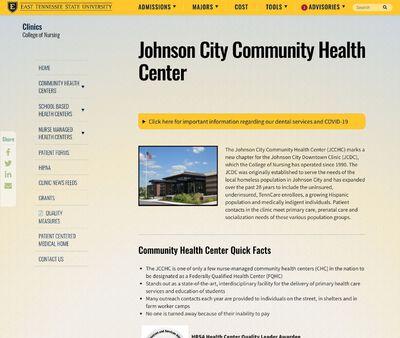 STD Testing at Johnson City Community Health Center