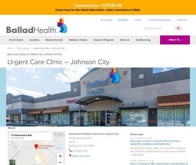 STD Testing at Wellmont Urgent Care