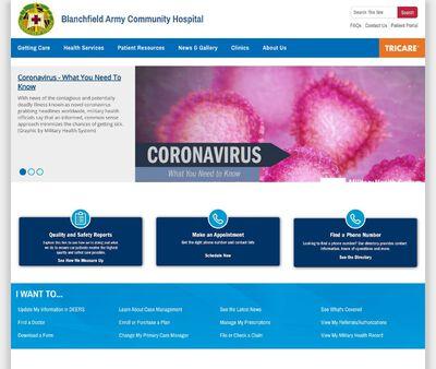 STD Testing at Blanchfield Army Community Hospital