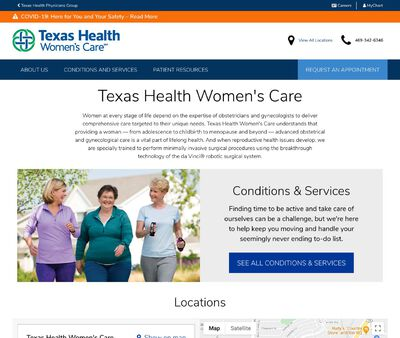 STD Testing at Texas Health Women's Care