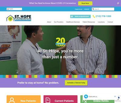 STD Testing at St. Hope Foundation - Sugarland