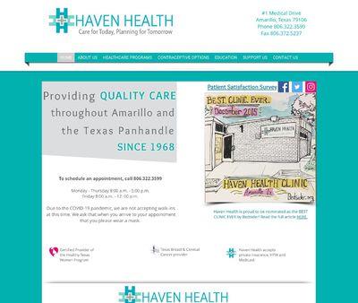 STD Testing at Haven Health Clinics