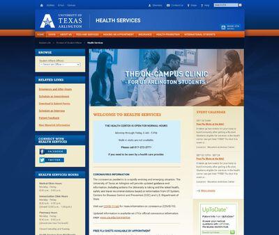 STD Testing at University of Texas Arlington Health Services