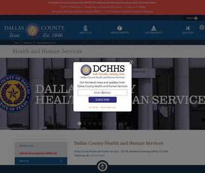 STD Testing at Dallas County Department of Health and Human Services