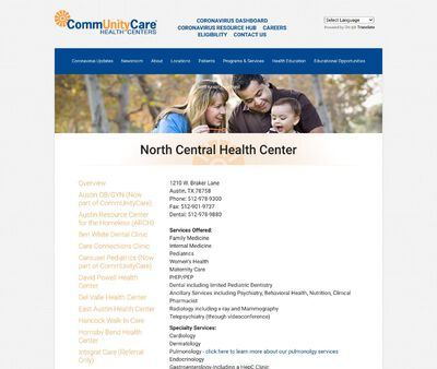 STD Testing at North Central Health Center