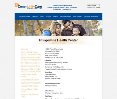 STD Testing at Pflugerville Health Center